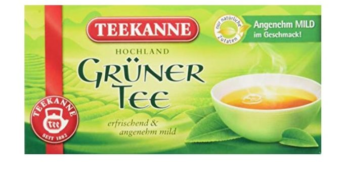 Gruener Tee Vergleich