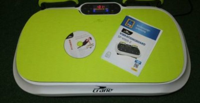 Vibrationsplatte Testbericht