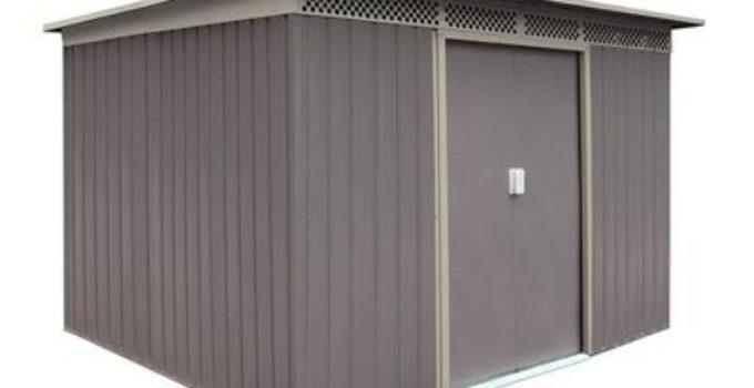 Gartenhaus aus Metall Test