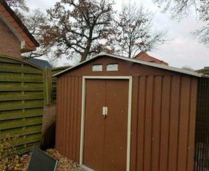 Gartenhaus aus Metall Testbericht